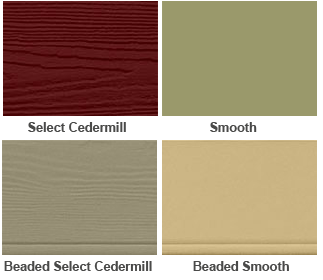 HardiPlank siding options