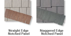Hardishingle siding options