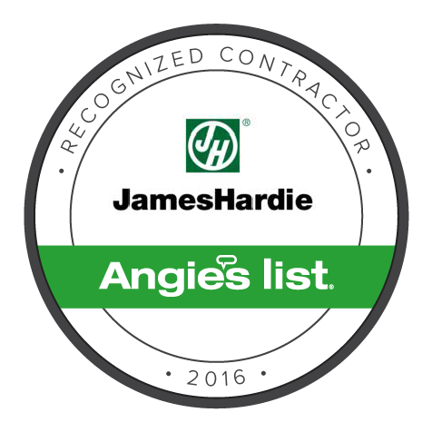 James Hardie Recognized Contractor Badge