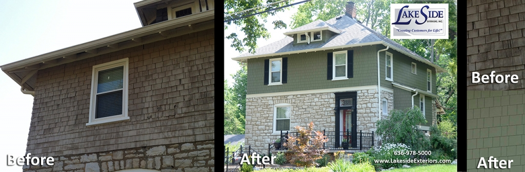 Beforeafter Lakeside Exteriors
