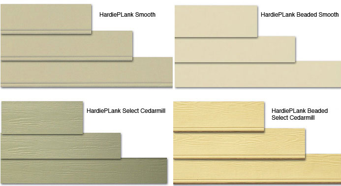 Hardieplank lap siding texture options for Siding styles and colors