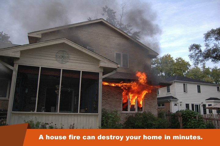 5 best ways to fireproof your home lakeside exteriors for How to protect your house from fire