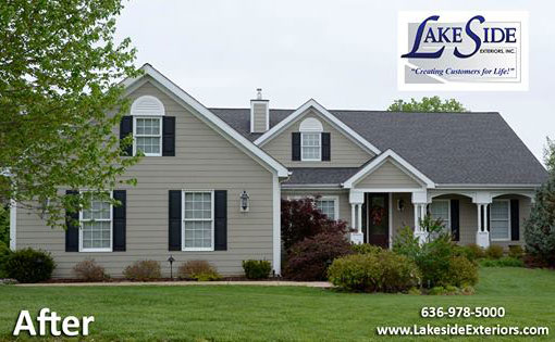 Round Tower Dr Hardie Siding St Charles Mo Lakeside